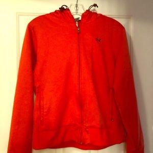 Under armor full zip sweatshirt/jacket